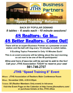 48 realtors in...48 realtors out Nov 20