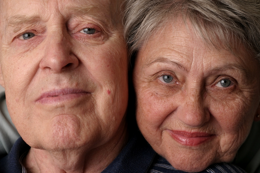 Florida Medicaid Planning - Close-up on mature couple's faces